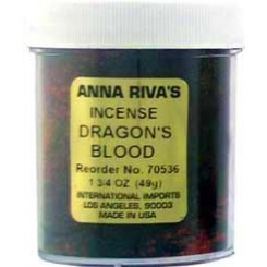 Anna Riva Dragons Blood Incense Powder
